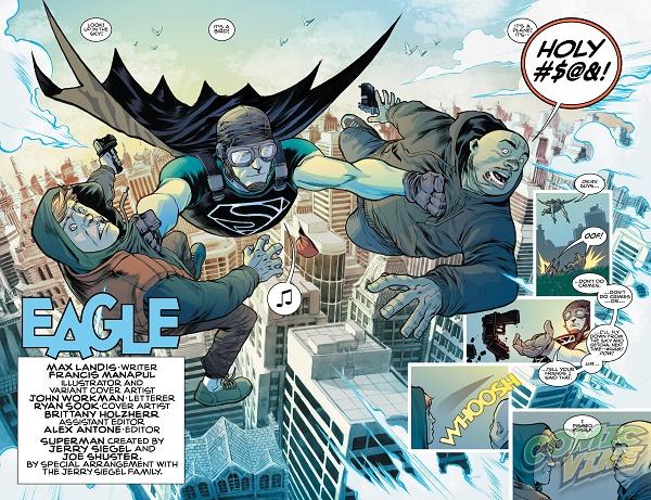 Superman: American Alien - Eagle