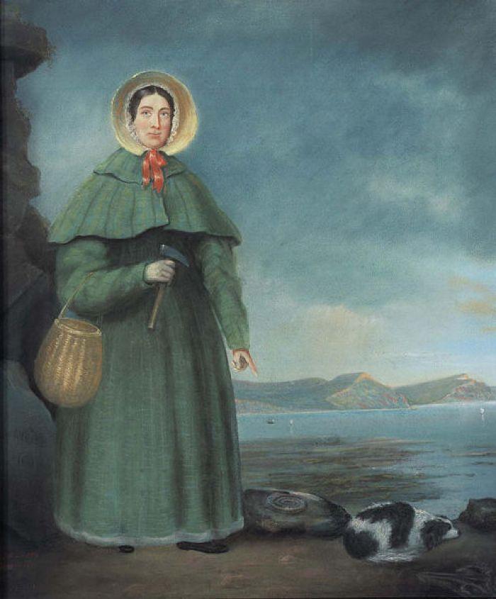 Mary Anning female palaeontologist