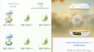 Pokemon Go Eggs