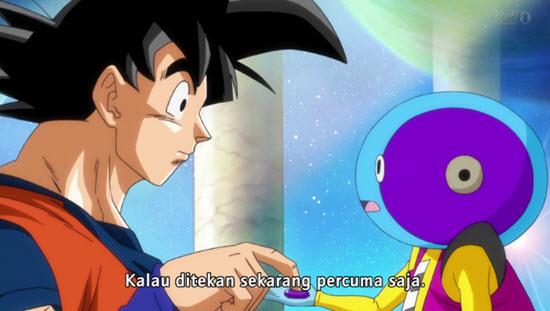 Goku Pokes Xeno-sama