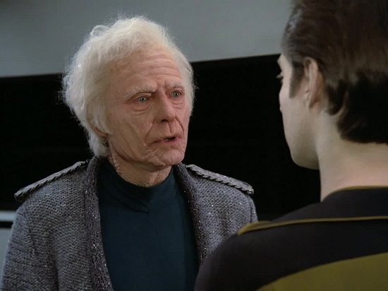 McCoy's Cameo on The Next Generation
