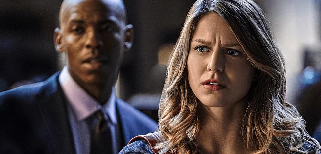 Melissa Benoist Supergirl Crossfire