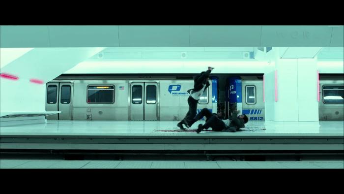 John Wick Chapter 2 Subway Platform fight