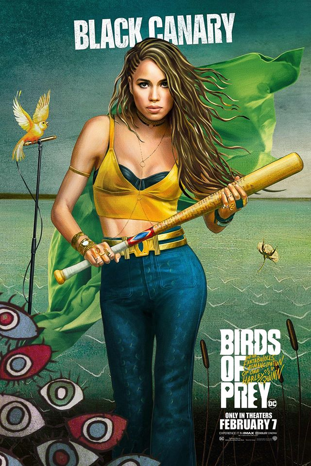 Birds of Prey posters Black Canary