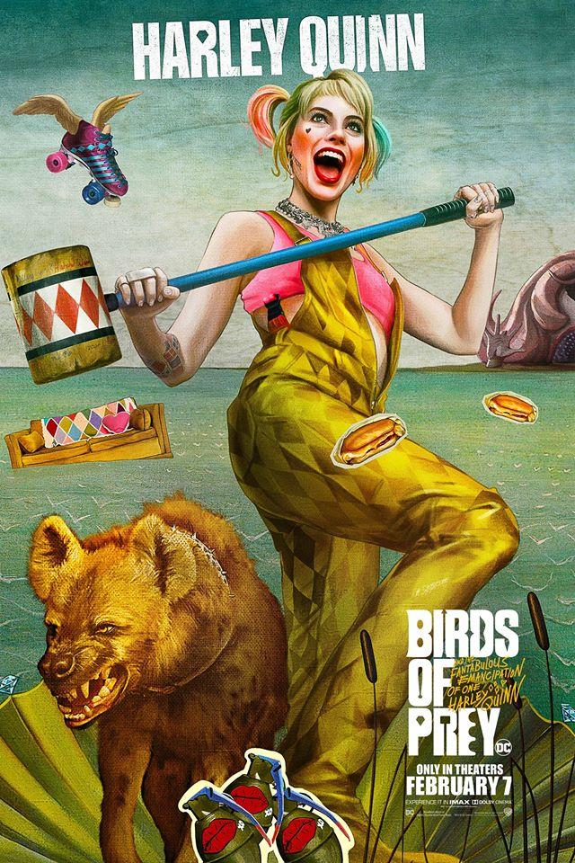 Birds of Prey posters Harley Quinn