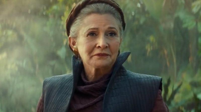 Afscheid van Prinses Leia
