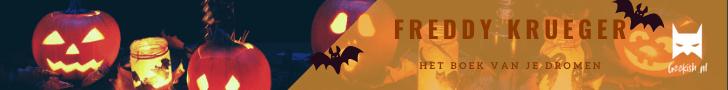Horrortober: de ultieme horror book tag met Freddy Krueger