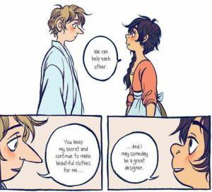 De prins en de naaister