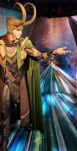 Loki wassen beeld Amsterdam