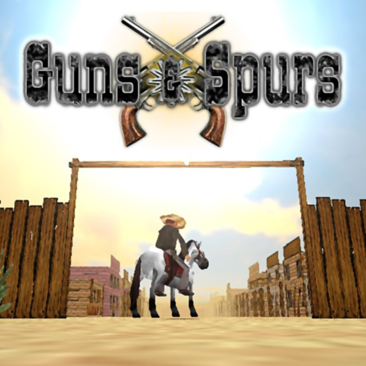 Guns and Spurs case cover