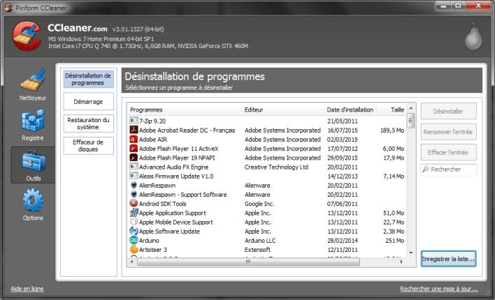 Liste-logiciels-avec-CCleaner