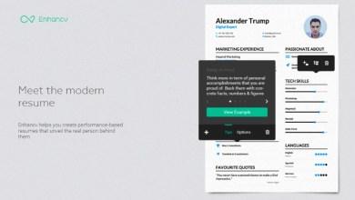Photo of EnhanCV : l'outil web pour créer un CV design axé sur vos compétences