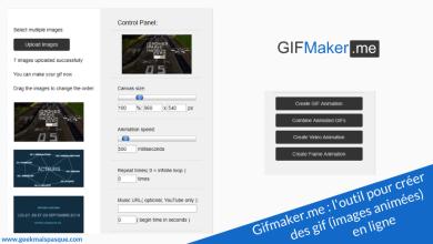 Photo of GifMaker.me : créer des gif (images animées) en ligne et en quelques clics !