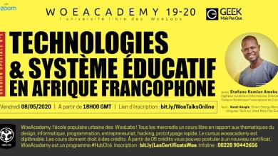 Photo of [#WoeAcademy] Technologies & Système éducatif en Afrique francophone : contexte, outils et modes d'enseignement