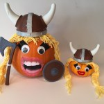 Viking pumpkins made so much better with their 3D printed accessories.