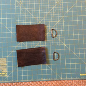 Fabric for D-ring straps