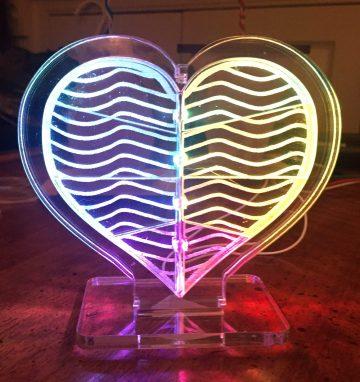 "LED ""Inner Glow"" Heart – Geek Mom Projects"