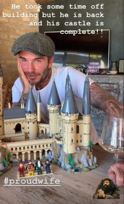 David Beckham, Harry Potter Superfan, Lego enthusiast, and retired footballer is scheduled to read to fellow Potterheads.