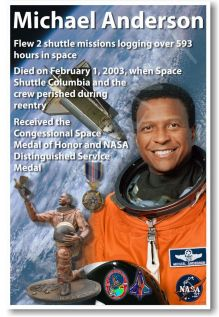 Lt. Col Michael Anderson- Killed in Space Shuttle Columbia disaster February 1, 2003