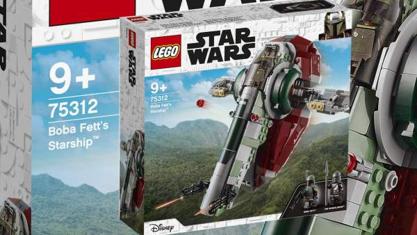 Newly released Boba Fett's Starship from Star Wars line