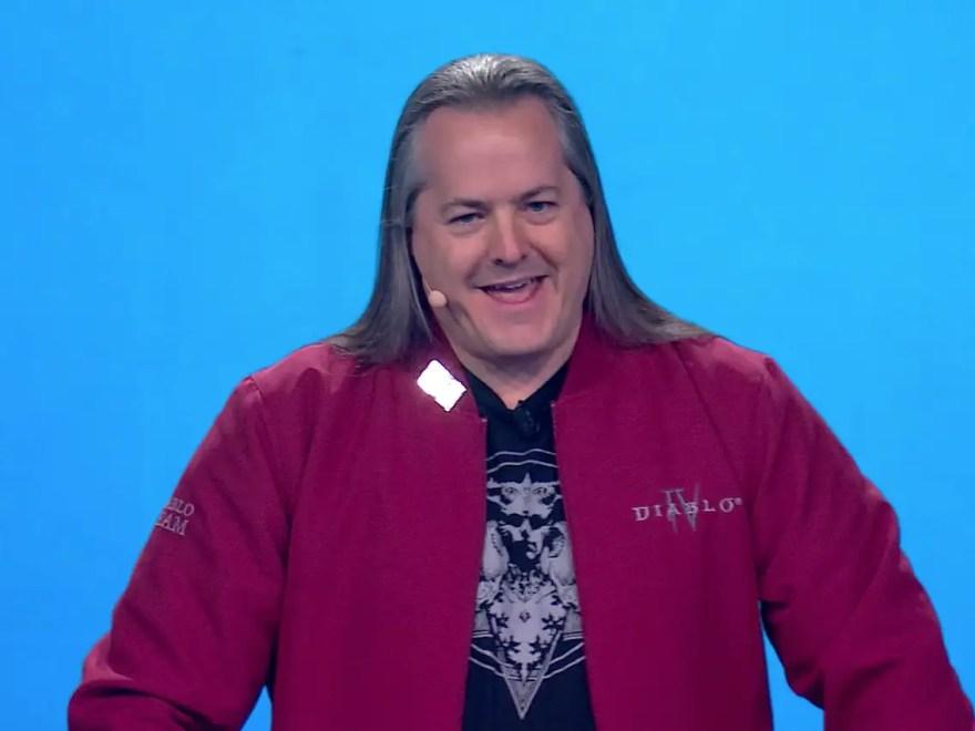 J Allen Brack former Blizzard president