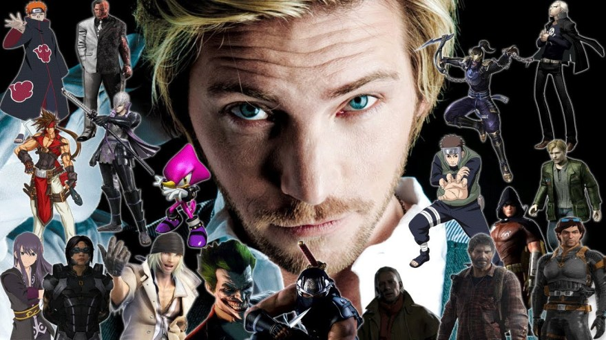 Voice Actor Troy Baker and a selection of roles