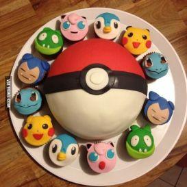 Tarta Pokémon
