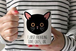 Taza gato