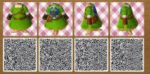 Animal Crossing Link Vestido