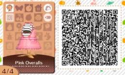 Vestido rayas Animal Crossing