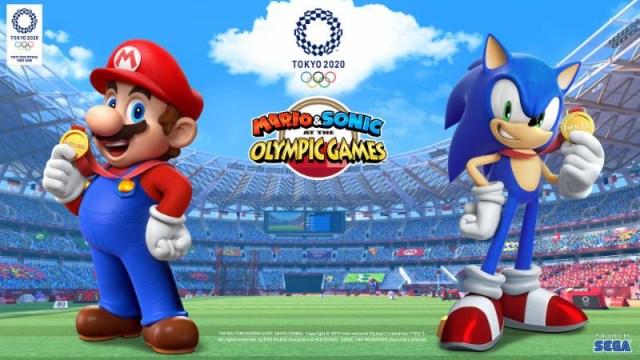 E3 2019 Mario & Sonic aux Jeux Olympiques Tokyo 2020 – Se dévoile en vidéo