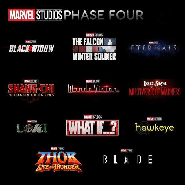 Marvel Cinematic Universe – Demandez le programme de la Phase IV