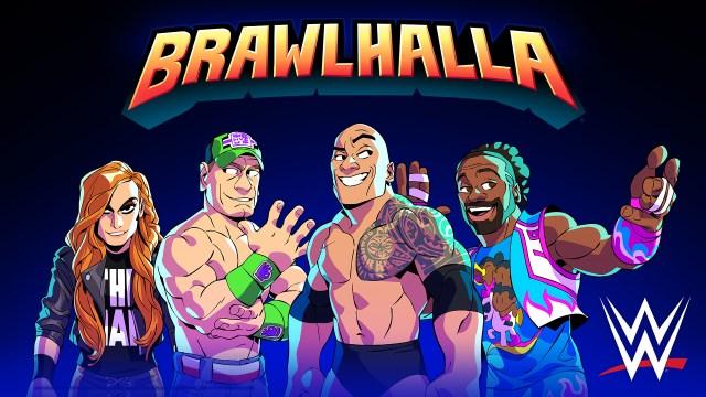Brawlhalla – Les catcheurs de la WWE sont disponibles à l'occasion de l'événement spécial SummerSlam !