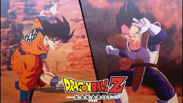 Dragon Ball Z: Kakarot – Le combat complet de Goku contre Vegeta