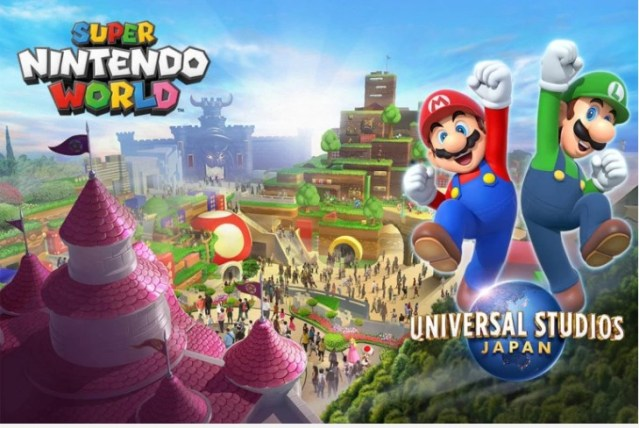 Super Nintendo World – Le parc d'attraction va bientôt ouvrir ses portes