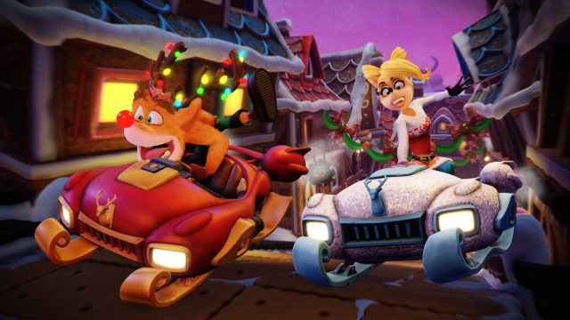 Crash Team Racing Nitro-Fueled – Winter festival is coming