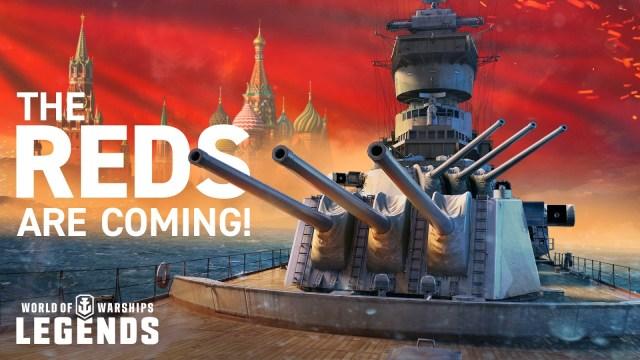 """World of Warships : Legends – Introduction de la puissance russe et de la campagne """"War and Peace"""""""