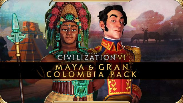 Civilization VI - New Frontier Pass - Maya & Gran Colombia Pack