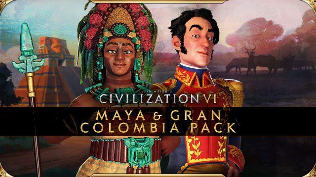 Civilization VI - New Frontier Pass - Maya & Gran Colombia Pack