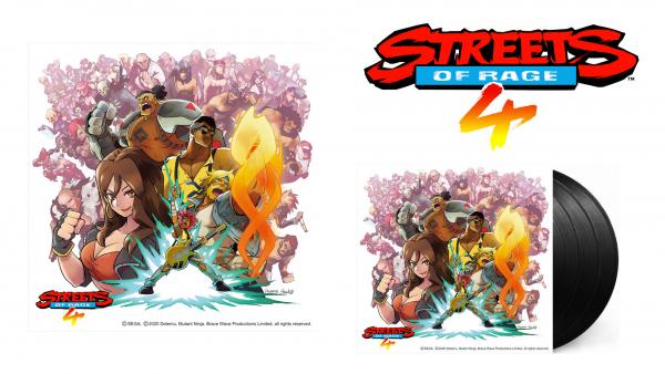 Découvrez le vinyle de Streets Of Rage 4