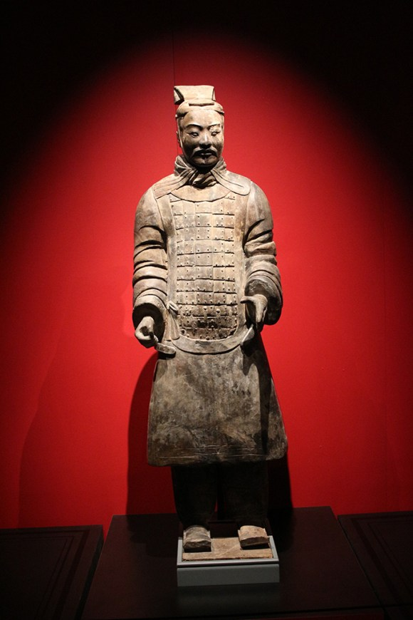 Armored Officer, Terracotta Army, circa 221-206 BCE.