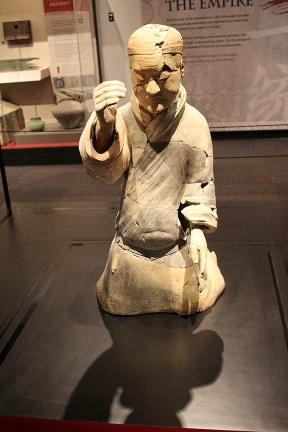 Musician, Terracotta Army, circa 221-206 BCE.