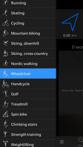 Yes, it actually includes wheelchair as an option!