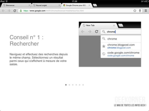 Google Chrome iPad17