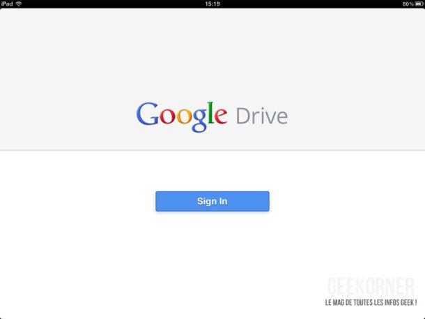 Google Drive iPad - 02