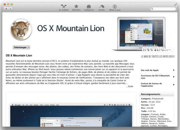 USB Mountain Lion - Geekorner - 10