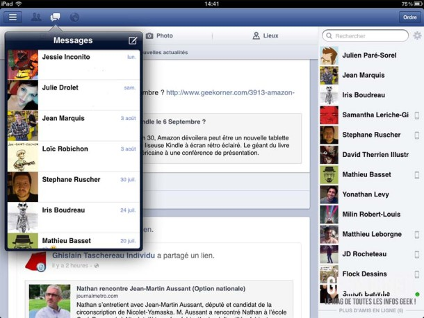 Facebook iOS Aout 2012 - Geekorner 03