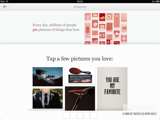 Pinterest iPad - Geekorner - 06