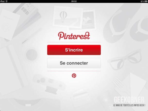 Pinterest iPad - Geekorner - 13