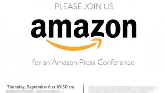 amazon invitation 6 septembre 2012